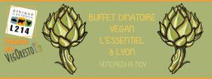 Buffet vegan à Lyon