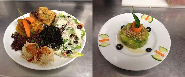 restaurant vegetarien