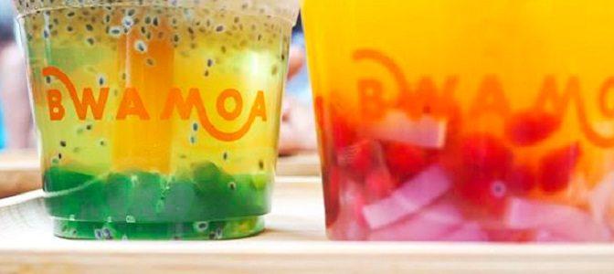 Bubble tea bar a jus the vert